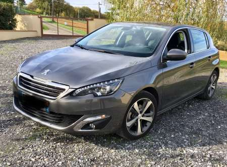 Photo ads/1444000/1444993/a1444993.jpg : Peugeot 308 allure blue hdi 120