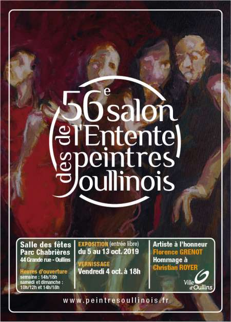 Photo ads/1551000/1551764/a1551764.jpg : 56e Salon de l'Entente des Peintres Oullinois