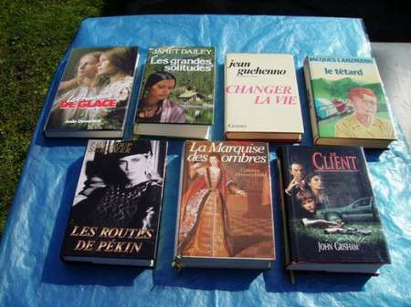 Photo ads/175000/175978/a175978.jpg : VOUS AIMEZ LIRE ... 15 LIVRES DE BIBLIOTHEQUE