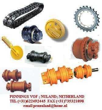 Photo ads/474000/474699/a2009121707-2616623.jpg :  Chenille caoutchouc ;roue de folle; barbotin pelle